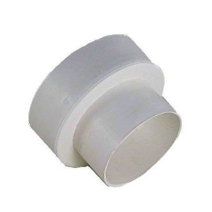 Plastic 4 inch to 3 inch Duct Reducer -0