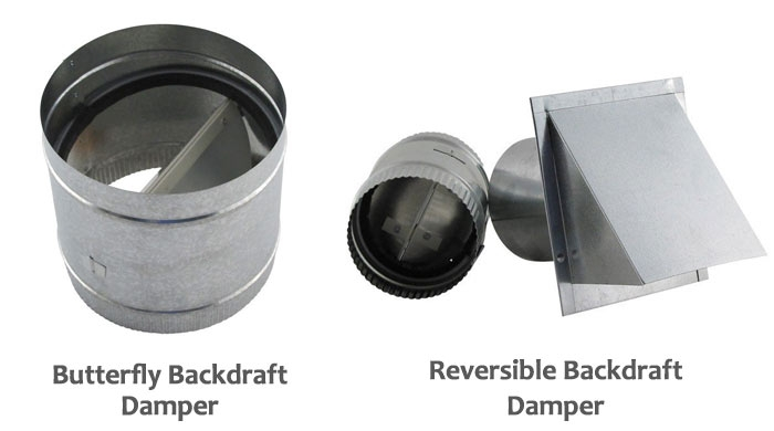 HVAC Backdraft dampers
