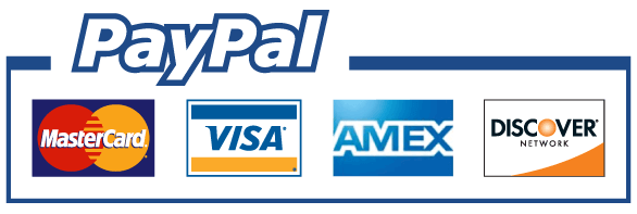 FAMCO accepts PayPal, as well as MasterCard, VISA, American Express, and Discover credit cards!